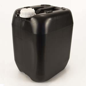 Bombona 20 litros reciclada preta